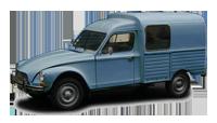 Citroen acadiane bleu azurite