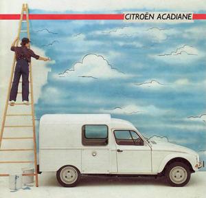Prospectus Citroën Acadiane